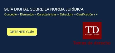 Estructura De La Norma Jurídica Temas De Derecho